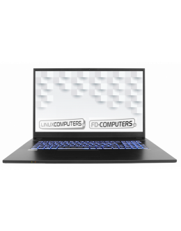 "Quality FD-Computers Intel 17,3"" Laptop - I7-10510U-8GB-500Gb-SSD-DVD"