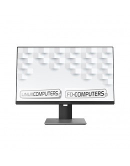 Quality FD-Computers - own assembly Intel I3-10100 24 inch All-In-One desktop computer-STRAIGHT