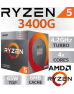Quality FD-Computers - own assembly High-end-pc-AMD-RYZEN-5-3400-12GB-250Gb-SSD-1000Gb