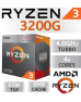 Quality FD-Computers - own assembly Linux-Office-pc AMD Ryzen-3 3200